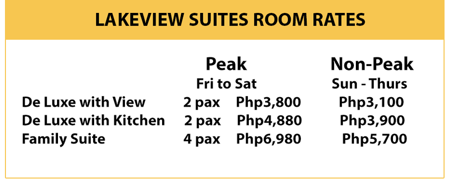Lakeview Room Rates
